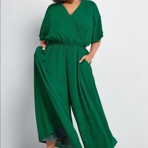 ModCloth wide leg jumpsuit